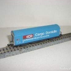 Trenes Escala: ROCO N CARGO AZUL 2 EJES (CON COMPRA DE 5 LOTES O MAS ENVÍO GRATIS). Lote 146554722