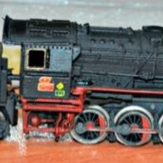 Trenes Escala: LOCOMOTORA DE VAPOR BR 44 DE LA DB RENFERIZADA. ROCO, REF. 23207, ESCALA N. COMPATIBLE IBERTREN. Lote 146676502