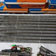 Trenes Escala: LOTE DE VÍAS TREN ROCO INTERNATIONAL ESCALA N-GAUGE-TRACK. Lote 150785638
