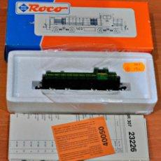 Trenes Escala: LOCOMOTORA DIESEL DE RENFE 307.004-2 LA VALENCIANA CON LUZ DE ROCO, REF. 23226. ESCALA N. IGUAL IBER. Lote 151161862