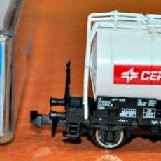 Trenes Escala: VAGÓN CISTERNA 2 EJES CEPSA DE ROCO, REF. 25248, ESCALA N. VÁLIDO IBERTREN.. Lote 151163250