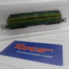 Trenes Escala: LOCOMOTORA DIESEL RENFE ESCALA N DE ROCO . Lote 156631570