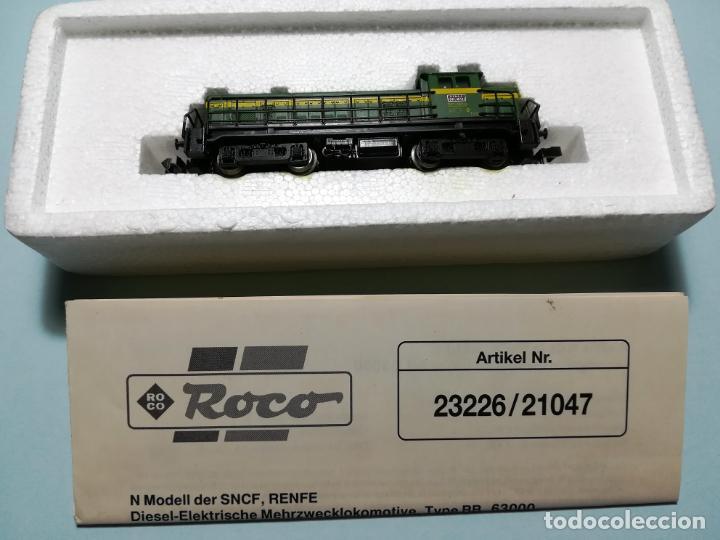 Trenes Escala: LOCOMOTORA ROCO RENFE 307 VALENCIANA. COMO NUEVA #JT - Foto 6 - 158145866