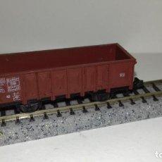 Trenes Escala: ROCO N BORDE ALTO 2 EJES (CON COMPRA DE 5 LOTES O MAS ENVÍO GRATIS). Lote 160990814