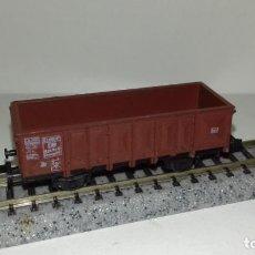 Trenes Escala: ROCO N BORDE ALTO 2 EJES (CON COMPRA DE 5 LOTES O MAS ENVÍO GRATIS). Lote 160990874