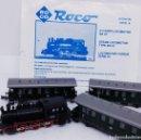 Trenes Escala: LOCOMOTORA VAPOR ROCO 97001. Lote 161245870