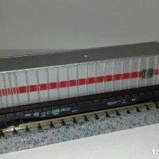 Trenes Escala: ROCO N PLATAFORMA 4 EJES CON CANTAINER (CON COMPRA DE 5 LOTES O MAS ENVÍO GRATIS). Lote 161264434