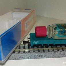 Trenes Escala: ROCO N BORDE BAJO CON CARGA 25927 (CON COMPRA DE 5 LOTES O MAS, ENVÍO GRATIS). Lote 167722876