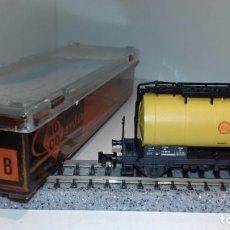 Trenes Escala: ROCO N CISTERNA SHELL 2320 B (CON COMPRA DE 5 LOTES O MAS, ENVÍO GRATIS). Lote 169113176
