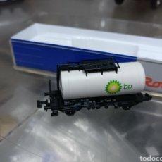 Trenes Escala: VAGÓN CISTERNA BP MARCA ROCO. Lote 169211836