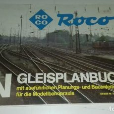 Trenes Escala: ROCO PLANOS DE MAQUETAS Y MAS EN ALEMAN (CON COMPRA DE 5 LOTES O MAS ENVÍO GRATIS). Lote 170294036
