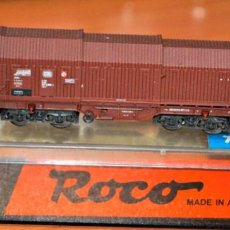 Trenes Escala: VAGÓN TELESCÓPICO TIPO SHIS DE LA DB DE ROCO, REF.25134. ESCALA N, COMPATIBLE CON IBERTREN. Lote 170380228