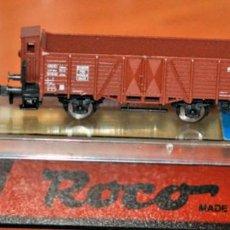Trenes Escala: VAGÓN BORDE ALTO CON GARITA DE LA DB DE ROCO, REF. 25096. ESCALA N, COMPATIBLE CON IBERTREN.. Lote 170932945