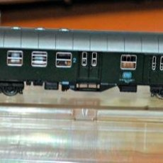 Trenes Escala: COCHE DE VIAJEROS MIXTO 2ª/EQUIPAJES 4 EJES DE LA DB. ROCO, REF. 2253. ESCALA N, COMPATIBLE IBERTREN. Lote 170933970