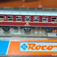 Trenes Escala: COCHE DE VIAJEROS 3 EJES 2ª CLASE DE LA DB DE ROCO, REF. 24202. ESCALA N, COMPATIBLE IBERTREN.. Lote 170940245