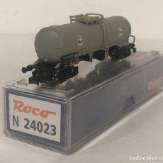 Trenes Escala: ROCO VAGÓN CISTERNA 'EVA', REFERENCIA N24023 ESCALA N. Lote 171082170