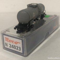Trenes Escala: ROCO VAGÓN CISTERNA 'EVA', REFERENCIA N24023 ESCALA N. Lote 171082184