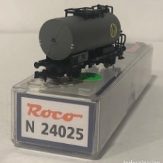 Trenes Escala: ROCO VAGÓN CISTERNA, REFERENCIA N24025 ESCALA N. Lote 171164369