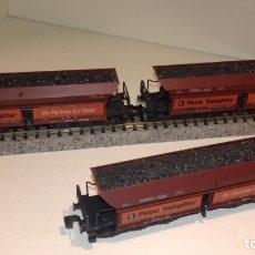 Trenes Escala: ROCO N 3 TOLVAS CARBÓN 6 EJES (CON COMPRA DE 5 LOTES O MAS, ENVÍO GRATIS). Lote 173082588