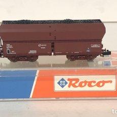 Trenes Escala: ROCO VAGÓN TOLVA CARBÓN RENFE, REFERENCIA 25238 ESCALA N. Lote 174421527