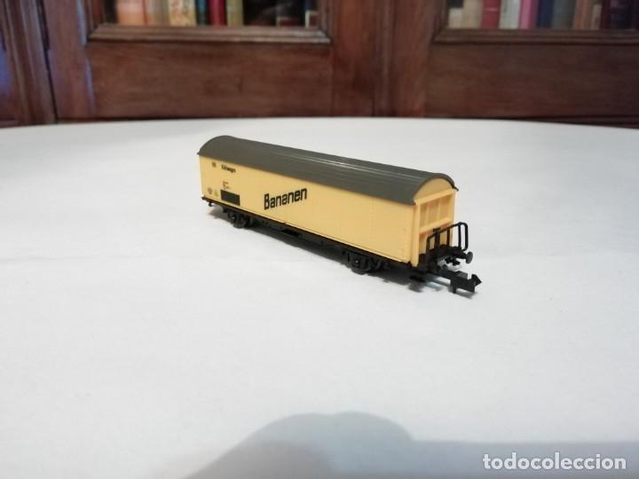 Trenes Escala: Roco N Vagón Frigorífico DB Bananen Kühlwagen Perfecto Estado - Foto 2 - 177046837