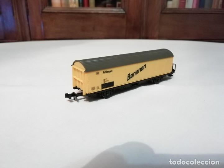 Trenes Escala: Roco N Vagón Frigorífico DB Bananen Kühlwagen Perfecto Estado - Foto 3 - 177046837