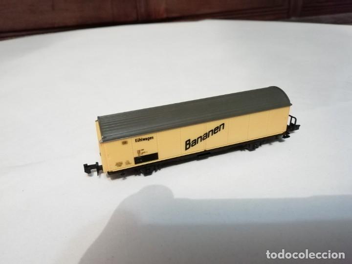 Trenes Escala: Roco N Vagón Frigorífico DB Bananen Kühlwagen Perfecto Estado - Foto 4 - 177046837