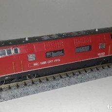 Trenes Escala: ROCO N LOCOMOTORA BB4000 SBBL44-104 (CON COMPRA DE 5 LOTES O MAS ENVÍO GRATIS). Lote 186434766