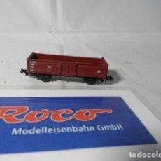 Trenes Escala: VAGÓN BORDE ALTO ESCALA N DE ROCO . Lote 190883657