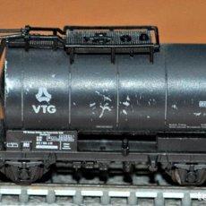 Trenes Escala: VAGÓN CISTERNA 2 EJES VTG DE ROCO. ESCALA N. Lote 191456355