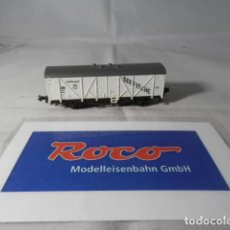 Trenes Escala: VAGÓN CERRADO ESCALA N DE ROCO . Lote 191744740