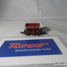 Trenes Escala: VAGÓN TOLVA ESCALA N DE ROCO . Lote 191814471