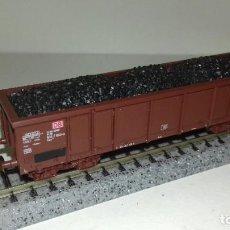 Trenes Escala: ROCO N BORDE ALTO CARGA CARBÓN EALOS L44-249 (CON COMPRA DE 5 LOTES O MAS ENVÍO GRATIS). Lote 192817902