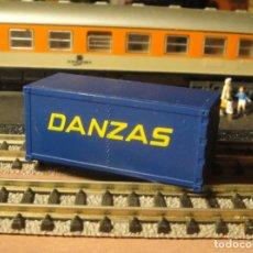 Trenes Escala: CONTENEDOR DANZAS. Lote 192827465
