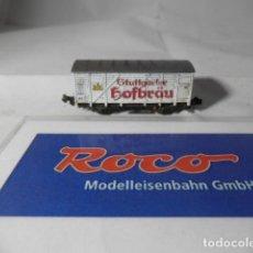 Trenes Escala: VAGÓN CERRADO ESCALA N DE ROCO . Lote 193762916