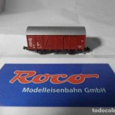 Trenes Escala: VAGÓN CERRADO ESCALA N DE ROCO . Lote 193763185