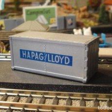 Trenes Escala: CONTENEDOR HAPAG-LLOYD. Lote 194011927