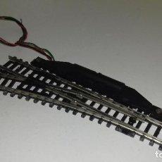 Trenes Escala: ROCO N DESVIO ELECTRICO IZQ 15º --- L45-152 (CON COMPRA DE 5 LOTES O MAS, ENVÍO GRATIS). Lote 205837311