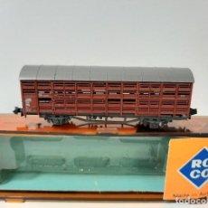 Trenes Escala: ROCO, VAGÓN GANADO ESCALA N, REF.2322. Lote 206290122