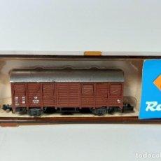 Trenes Escala: ROCO, VAGÓN GANADO ESCALA N REF.2329A. Lote 206290346