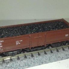 Trenes Escala: ROCO N BORDE MEDIO CARGA CARBÓN --- L46-003 (CON COMPRA DE 5 LOTES O MAS, ENVÍO GRATIS). Lote 212628768