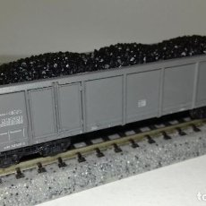 Trenes Escala: ROCO N BORDE ALTO CARGA CARBÓN EALOS --- L46-033 (CON COMPRA DE 5 LOTES O MAS, ENVÍO GRATIS). Lote 212789396