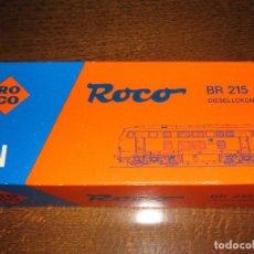 Trenes Escala: LOCOMOTORA BR 215 DB DIESELLOKOMOTIVE (ROCO). ESCALA N. REF. 02150 C. Lote 214217347