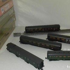 Trenes Escala: ROCO N 5 VAGONES COMPOSICIÓN DB -- L46-194 (CON COMPRA DE 5 LOTES O MAS, ENVÍO GRATIS). Lote 215570278
