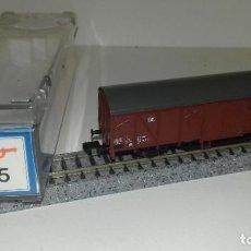 Trenes Escala: ROCO N CERRADO 2 EJES LARGO 25175 -- L46-213 (CON COMPRA DE 5 LOTES O MAS, ENVÍO GRATIS). Lote 216490310