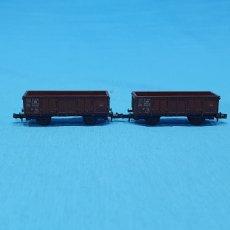 Trenes Escala: PAREJA DE VAGONES ROCO DB - AUSTRIA. Lote 219256601
