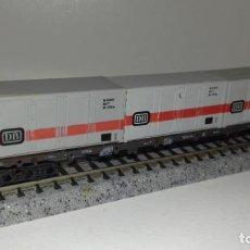 Trenes Escala: ROCO N PLATAFORMA CONTENEDORES -- L46-336 (CON COMPRA DE 5 LOTES O MAS, ENVÍO GRATIS). Lote 221587966