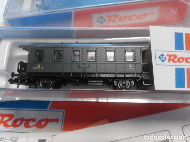 Trenes Escala: MAQUINA Y TRES VAGONES, ROCO ESCALA N - Foto 5 - 222025028