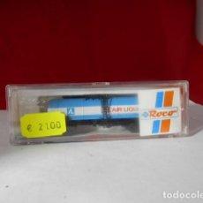 Trenes Escala: VAGÓN CISTERNA ESCALA N DE ROCO. Lote 222198876