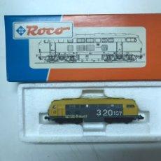 Trenes Escala: LOCOMOTORA ROCO RENFE 320-137 CON CAJA ORIGINAL ESC N. Lote 222680781